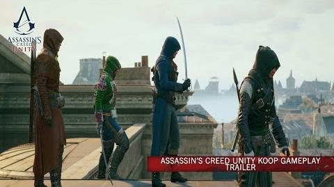 Assassin's Creed Unity Koop Gameplay Trailer DE