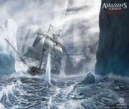 ACRogue battaglia navale ghiaccio concept art