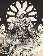 Abstergo Entertainment – Employee Handbookl-sketch of Ezio Auditore da Firenze