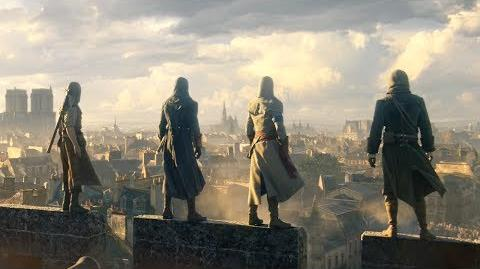 Assassin's Creed Unity E3 2014 World Premiere Cinematic Trailer SCAN