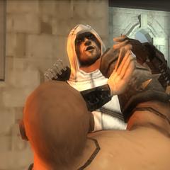<b>Moloch</b> étranglant Altaïr