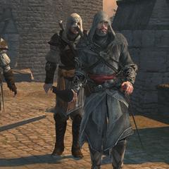 Ezio and three Ottoman Apprentices