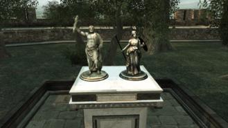 Statue monteriggioni
