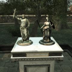 Les statuettes de <a href=