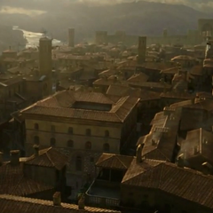 Florence from a bird's eye view