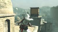 Altair używa noży