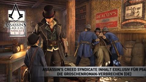 Assassin's Creed Syndicate Inhalt exklusiv für PS4 - Die Groschenroman-Verbrechen DE