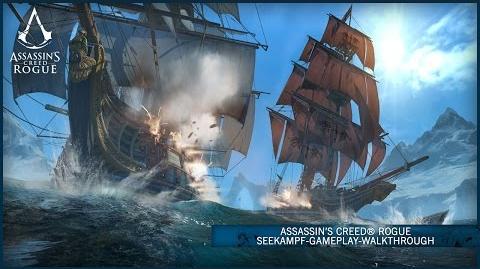 Assassin's Creed® Rogue Seekampf-Gameplay-Walkthrough DE