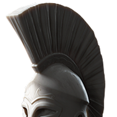 描绘列奥尼达斯的半身像