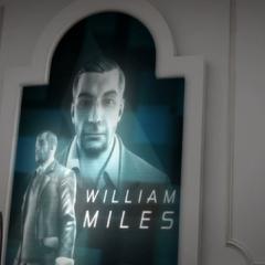 William's profiel getoond aan  de Meester Tempelier