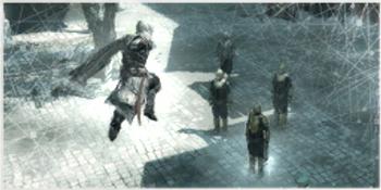 <small>Grafika symbolizująca tę umiejętność w Assassin's Creed II</small>