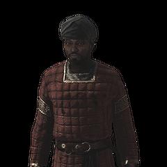 一位撒拉森士兵