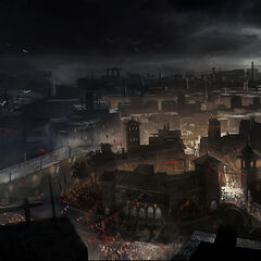 Concept art of Rome
