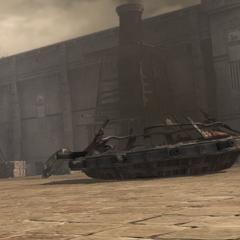 Le dernier char détruit