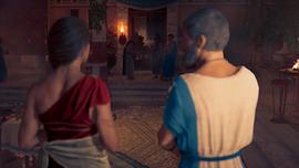 Kasandra i Herodot na sympozjonie Peryklesa