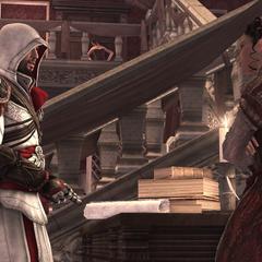 克劳迪娅和埃齐奥争吵