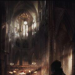 概念艺术 - 在威斯敏斯特教堂举行的某场仪式