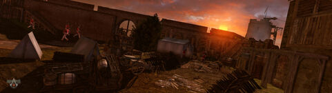 Assassins creed 3 ( Fort Exterior) by neilvk