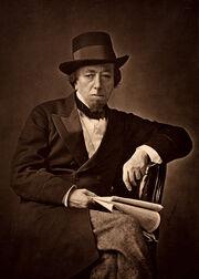 Benjamin Disraeli by Cornelius Jabez Hughes, 1878