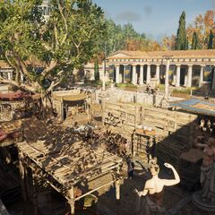 The Slave Market in Chalkis City, Euboea, Greece