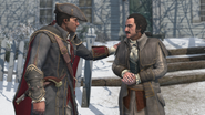 Haytham et Lee Lexington