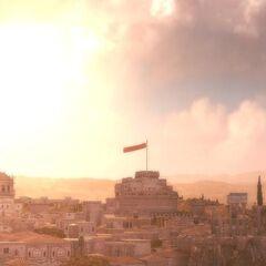 晨曦下的罗马