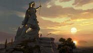ACOD Artemis Statue Concept Art