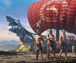 ACOD Shark Naval Pack Promo Image