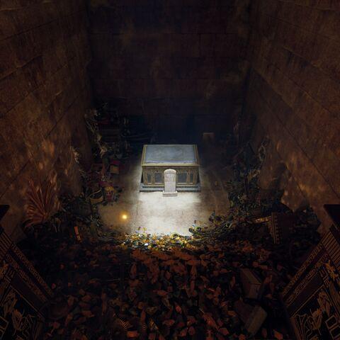 胡夫的墓室