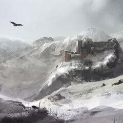 Masyaf im Winter