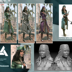Clothing customization for the Vanguard