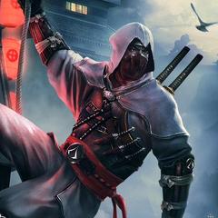 <b>Hattori Hanzō</b> dans sa tenue de ninja
