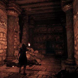 卡珊德拉探索墓道