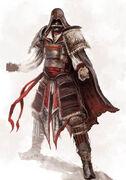 Ezio exotic concept - Toile numérique originale