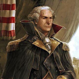 Porträt von Washington