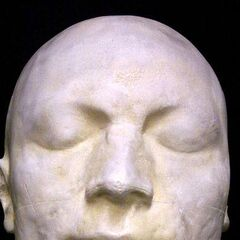 A copy of Robespierre's death mask
