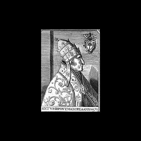 西克斯特四世的肖像