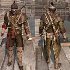 殖民地刺客服装