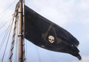 Flagge von Edward Kenway