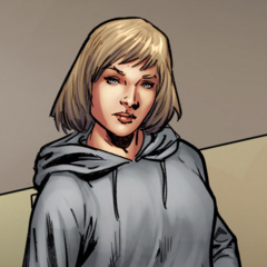 Galina as she appears in the comics