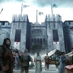 城堡的原设图