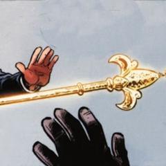 亚历山大把权杖扔给尼古拉