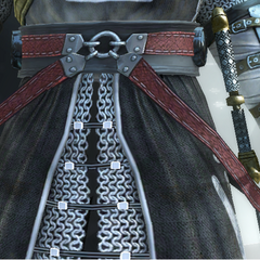 The Crusader's belts