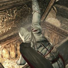 Ezio s'emparant du trésor