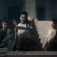 Brutus, Aya et Cassius