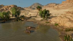 ACO Tanière d'hippopotames Fayoum