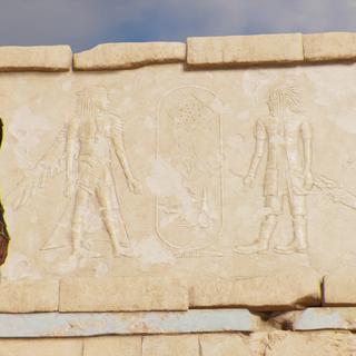 Hiéroglyphe d'Ardyn et Noctis
