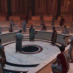 凯撒和众位元老