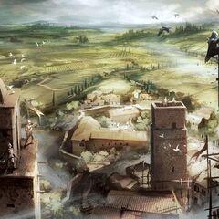 圣吉米那诺的设定图