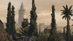 Wieża Galata (widok z obrzeży Konstantynopola) (by Kubar906)